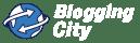 Blogging City logo white