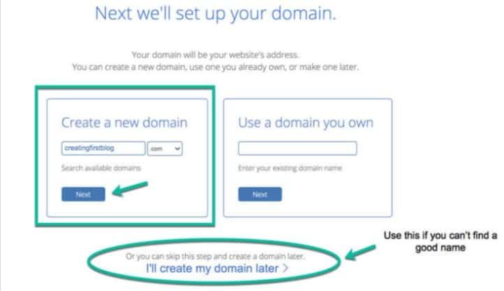 next we will set up domain