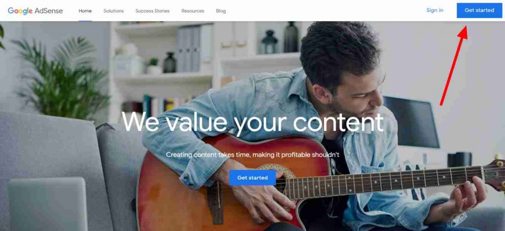 Google-AdSense-Earn-Money from website