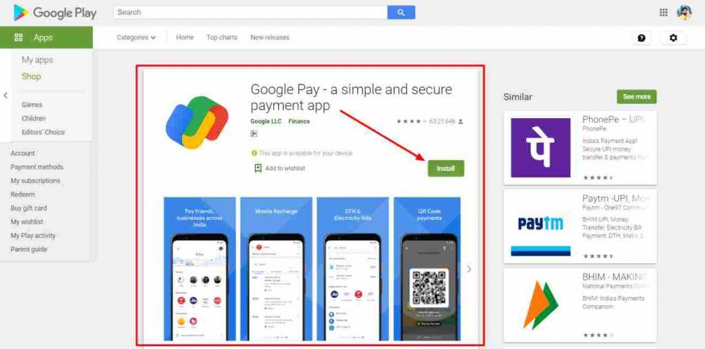 Google Pay App se paise Kamaye