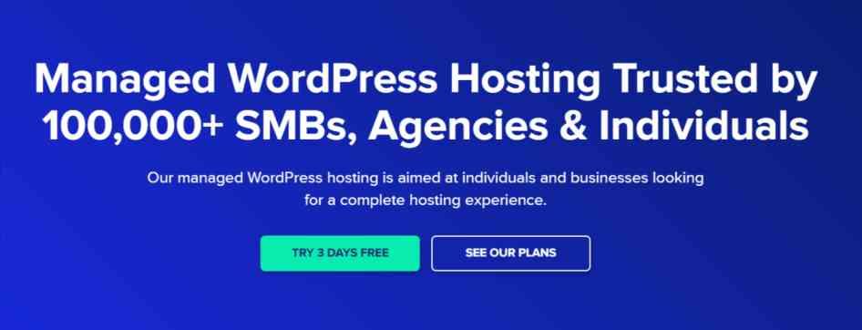 Managed WordPres hosting on cloudways