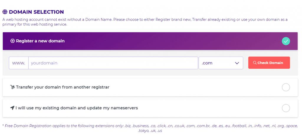 hostarmada domain registration