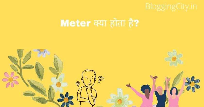 Meter क्या होता है